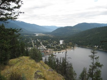 Slocan Village from Above - photo by Michelle Gordon