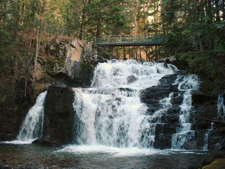 Springer Creek Falls - photo by Michelle Gordon