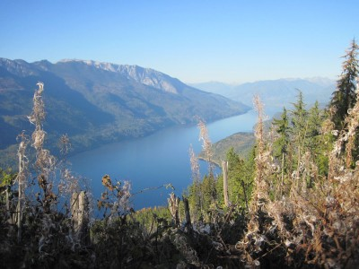 Slocan Lake in summer - photo by James Andersen