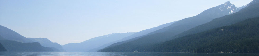 Slocan Lake - photo by Shauna Teare