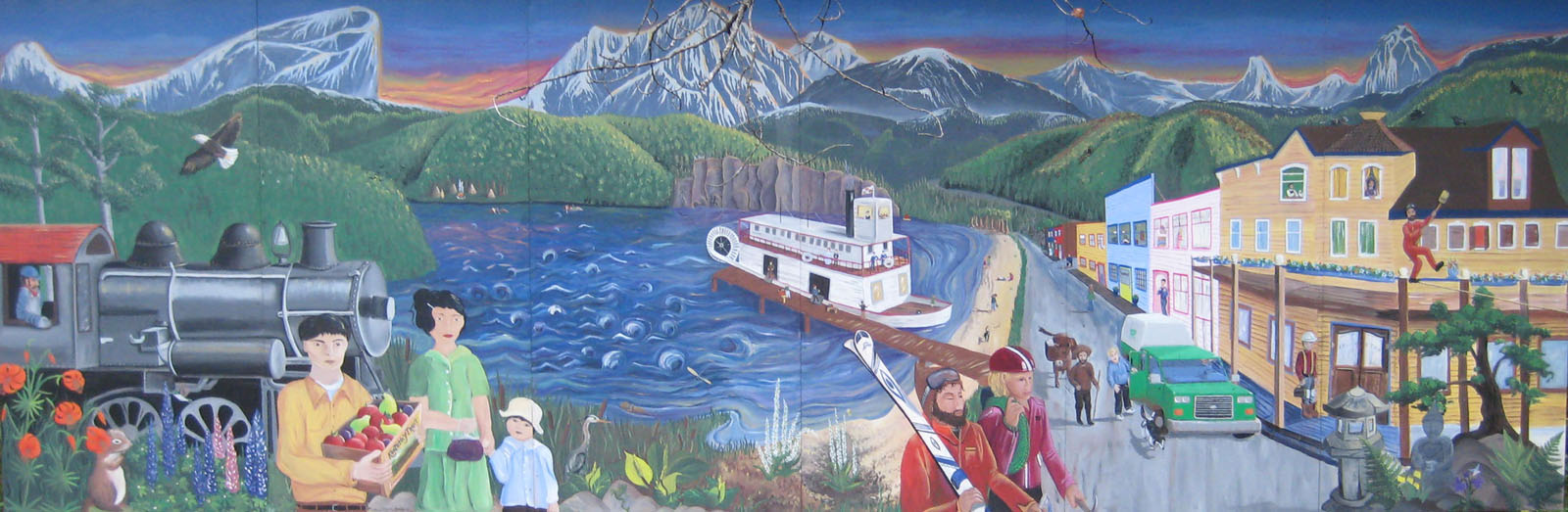 Springer Creek Mural - photo by Michelle Gordon