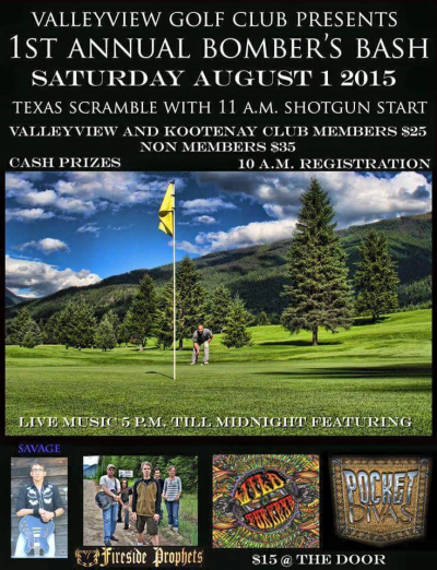 Golf and Music, August 1 at Valley View Golf Course @ Valley View Golf Course | Winlaw | British Columbia | Canada