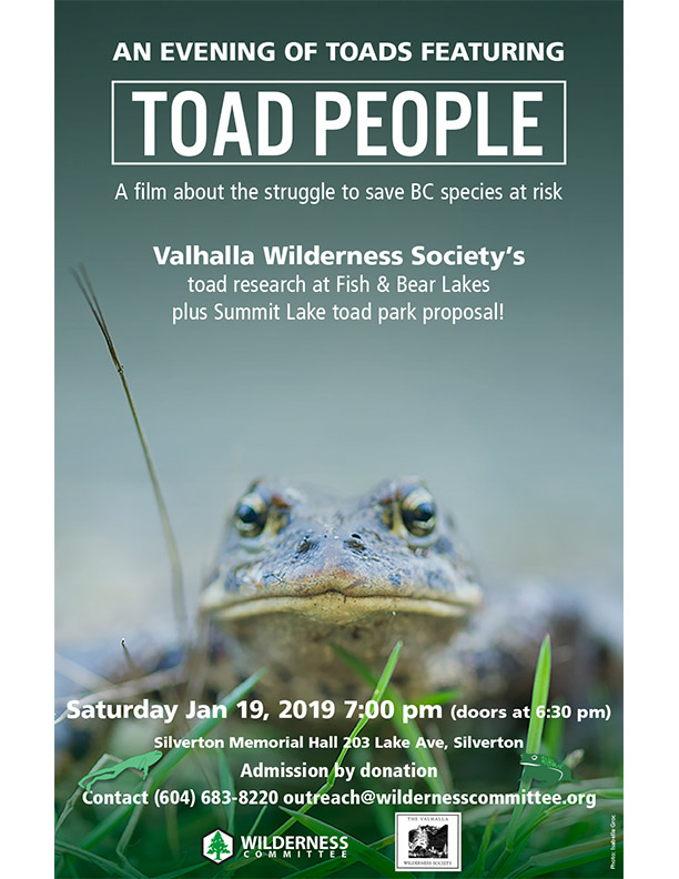 Toad People- Film and Presentation @ Memorial Hall
