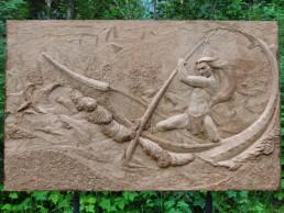 sinixt sculpture