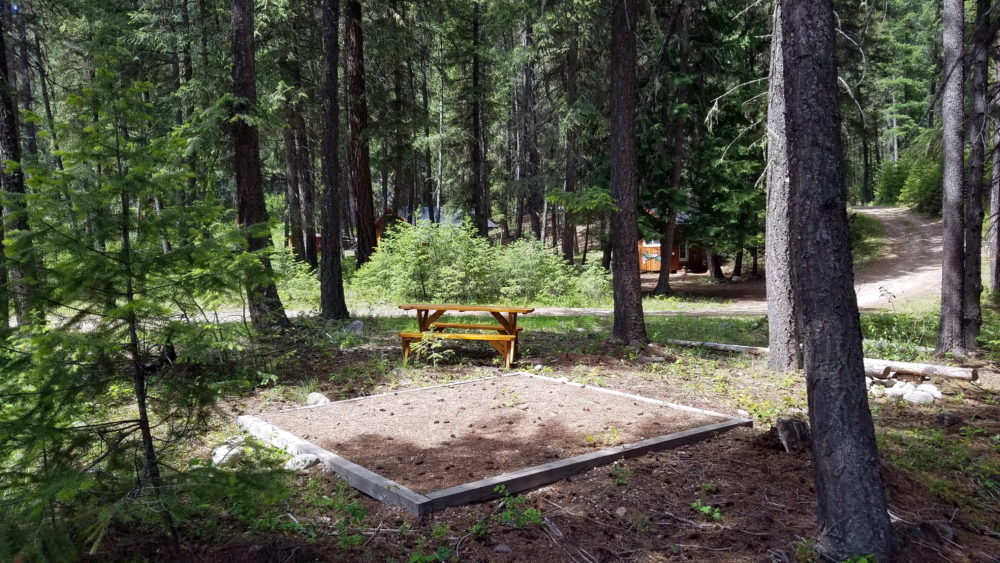 Tent Site 1
